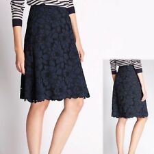 Marks and Spencer Knee Length Lace Floral Skirts for Women