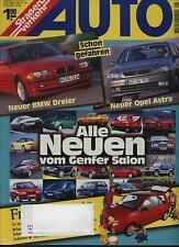 Straßenverkehr Auto 5/98 3er BMW Opel Astra Genfer Salon Hyundai Atos Test