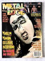 Metal Edge Magazine Dec. 2000 - Marilyn Manson / Godsmack / Slipknot