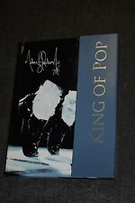 MICHAEL JACKSON KING OF POP SIGNATURE SERIES HARD COVER JOURNAL MAGNETIC CLASP
