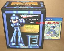 PS4 Mega Man Statue & E-Tank Legacy Collection Special Edition New Sealed