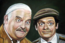 DAVID JASON 01 AND RONNIE BARKER (OPEN ALL HOURS) TELEVISION ACTOR ART PRINTS