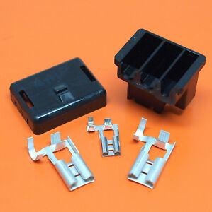 3 Pin Universal Alternator Wiring Connector Plug For Lucas Bosch Alternators