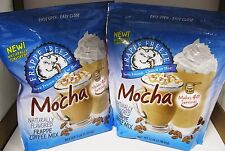 4-Pack Mocha Frappe Coffee Drink Mix Bags 3 Pound Bag Each