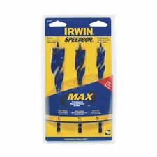 Irwin Speedbor 3pc Max Speed Wood Auger Set