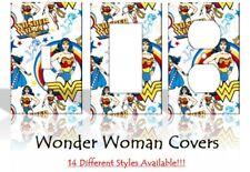 Wonder Woman DC Comics Light Switch Covers Disney Home Decor Outlet