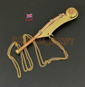 Bosun's pipe - Boatswain's Whistle Copper & Brass