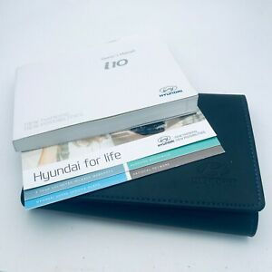 HYUNDAI i10 OWNERS MANUAL HANDBOOK AND WALLET PACK - 2015 To 2020