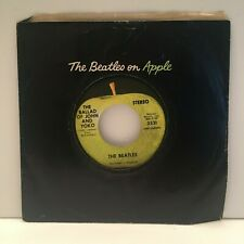 The Beatles Ballad of John and Yoko / Old Brown Shoe 45 rpm Apple 2531 VG+