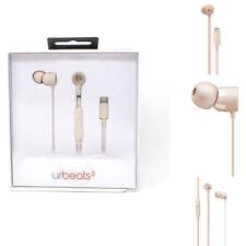 Beats by Dr. Dre urBeats3 Earphones w/ Lightning Connector Matte Gold MR2H2LL/A