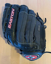 "Easton Black Stealth Glove 12.5"" SS125 Baseball Softball Hyperlite LHT"