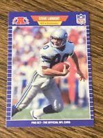 Vintage NFL 1989 Pro Set #396 STEVE LARGENT Sea Seahawks Tulsa WR HOF RARE NM/Mt