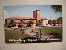 Vintage Postcard Student Union Building University Of Arizona Tucson Unused