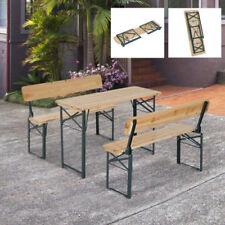 Outsunny Wooden Garden & Patio Furniture Sets