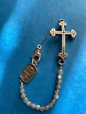 King Baby Bracelet Silver Cross