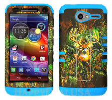 KoolKase Hybrid Cover Case for Motorola Electrify M XT901 - Camo Mossy DEER