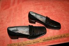 Used Auth Ladies Black Bruno Magli (R) Itlay Shoes size US 9 C