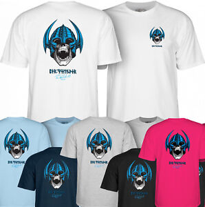 POWELL PERALTA Skateboard Tee Shirt - Per Welinder Nordic Skull - BONES BRIGADE