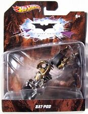 HOT WHEELS BATMAN FILMS THE DARK KNIGHT BAT-POD 1:50