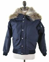 WOOLRICH Girls Jacket 9-10 Years Navy Blue Nylon  DU01