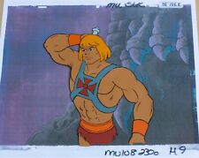 He-Man - original production Cel & copy background: HE-MAN