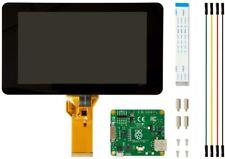 "Raspberry Pi 4/3 7"" LCD Screen TFT 10 Finger Touch Screen Original + Case"