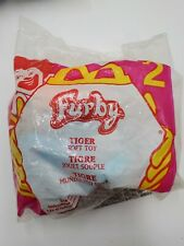 VINTAGE 2000 FURBY MCDONALDS HAPPY MEAL TOY TIGER SOFT TOY