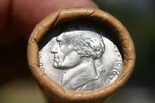 1976 D Jefferson Nickel Original Bank Wrap Roll Rare Year Unc Obw Bu 5 Cents