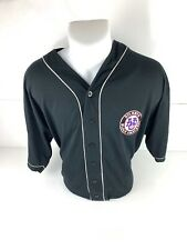 Vintage Negro Leagues Atlanta Black Crackers Baseball Jersey Size Mens XL