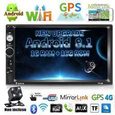 "2DIN 7"" Android8.1 Autoradio GPS Navi Bluetooth Car Radio WIFI 4 Core MP5 1G+16G"