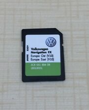 RNS310 V10 East Sd card 2018 VW Seat Skoda SD Card Map FX Europe East Latest