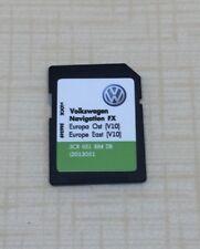 RNS310 V10-Orient CARTE SD 2018 VW SEAT SKODA carte SD carte FX Europe EAST dernière