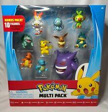 NEW Pokemon Battle Figure Multi Pack - GENGAR PIKACHU EEVEE SQUIRTLE BULBASAUR +