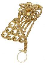 Indian Bracelet Bangle CZ Gold Stone Wedding Fashion Jewelry Hand Ring Bracelet