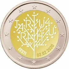 VVK 2 Euro Estland 2020 100 Jahre Frieden von Tartu