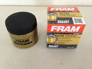 Fram Ultra Synthetic XG6607 Oil Filter fits M1-108A PH2876XL 51365XP 10-2876