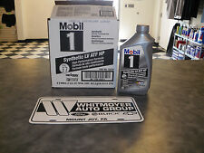 1 Quart Mobil 1 Synthetic LV ATF HP  Automatic Transmission Fluid GM 19353429