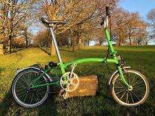 Brompton M3L Folding Bike Green