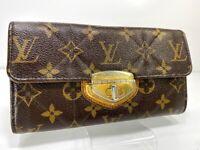 AUTH Louis Vuitton Long Wallet Portefeuille Sarah Etoile purse M66556 59621423