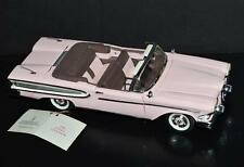Franklin Mint 1/24 scale DieCast Car 1958 Edsel Citation Pink