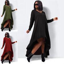Chiffon V-Neck Long Plus Size Dresses for Women