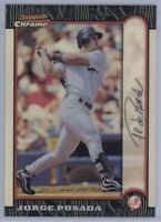 1999 Bowman Chrome Jorge Posada #48 Refractor New York Yankees SP