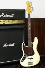 LEFT Handed Fender Japan '62 reissue Jazz Bass JB62-LH Alder Crafted in Japan
