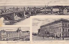 AK-Mainz-Kastel-Bahnhof-Hotel-Pionier-Kaserne-Feldpost 1916
