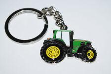 John Deere Green Tractor Keyring Collectable Novelty Farming Gift Enamel Keys