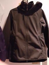 The North Face Women Softshell Fleece Parka Hoody size M