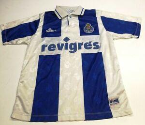 Saillev F. C. Porto Mens 1995/1996 Shirt, Size M, Blue/White, Fair Cond AF1