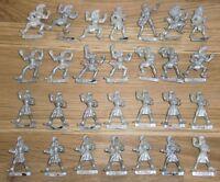 Warhammer Citadel Blood Bowl Wood Elf Team Figures - OOP Metal