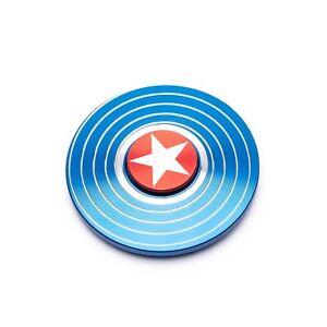 Marvel Captain America Nervosismo Spinner Edc Cuscinetto Autismo Focus Stress