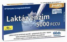 Jutavit Lactase Enzyme 60 Tablets - Improves Lactose Digestion - 5000 FCCU